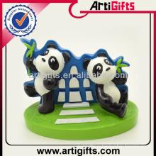 Подгонянное 3D прекрасный Panda полистоуна статуэтка