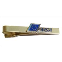 Clip de corbata y barra de lazo con logotipo personalizado
