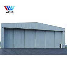 low price durable large span prefab house Prefab custom Q355 metal steel structure hangar for sale