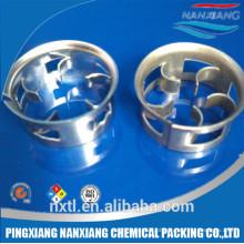 Anel mini cascata metálico usado na torre absorve ou disabosorb