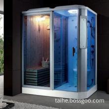 Sauna Room with Digital Control Panel and Sauna Stove, Measures 170 x 115 x 220cm