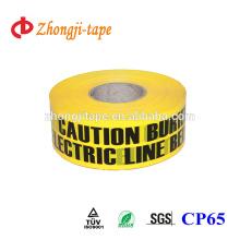 No-contaminación 7,5 cm de ancho de cinta no detectable subterránea