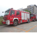 HOWO 4*2 rescue service vehicles