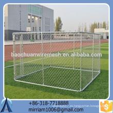2016 Nueva perrera galvanizada caliente de la perrera del perro del diseño / casa del animal doméstico / jaula / funcionamiento / portador del perro