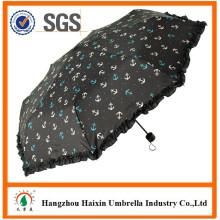 Mini a prueba de viento plegable paraguas para pintar