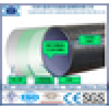Alibaba Trade Assurance 3 pe coated welded oil pipe with factory price