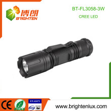 Factory Supply Logo Printed EDC High Quality High Power Aluminum 7W Cree led Flashlights with Belt Clip