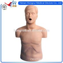 Maniquí de entrenamiento de CPR de medio cuerpo económico de ISO