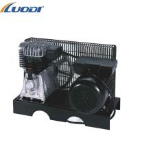 Pompe et moteur de compresseur d'air entraînés par courroie 3hp