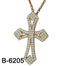 Joyería de moda Cruz colgante de plata 925