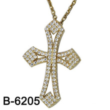 Fashion Jewelry Cross Pendant Silver 925