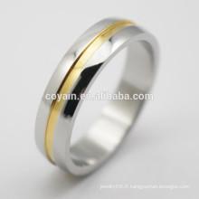 Bijoux en or de bijoux de mode anneaux de fiançailles bon marché pour femmes