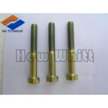 high strength Gr5 titanium metric bolt