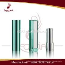 61LI21-13 caja de lápiz labial de plástico con espejo