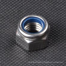 DIN985 écrou en acier inoxydable en acier au carbone pour décoration intérieure