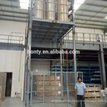 Cheapest vertical cargo lift manual platform lift with high quality