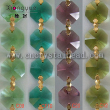 DL04 crystal Octagon Bead Chain
