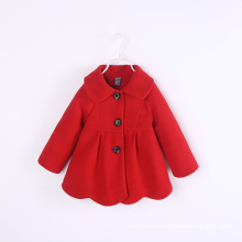 new arrival children winter coat wholesale price warm long wave design kids winter coat