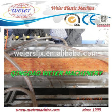 NEW TECHNOLOGY OF WPC PVC floor decking profile machinery