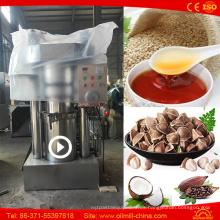Máquina de la mini prensa de aceite de la nuez de coco de Camellia Camellia de la calabaza