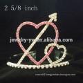 wholesale hair accessories crystals heart shape headband