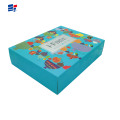 Toy custom blue gift box