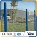 PVC beschichtete 5mm 3D geschweißte Drahtzaunplatten 2.5mx2.03m