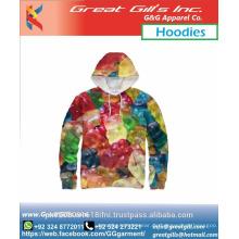 Hochwertige Sublimation Hoodies und Sweatshirts Fleece Hoodie Männer Großhandelspreis Qualität