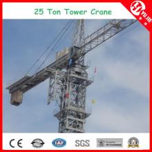 Tc8031 Max Load 25 Ton Large Capacity Tower Crane at 80m Height