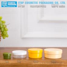 WJ-T serie 10g 70g 100g 160g T-forma clásica de una sola capa buena calidad multi-uso pp plástico tarros