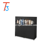 Double door non woven bedroom wardrobe