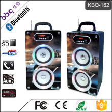 BBQ KBQ-162 20W 2000mAh LED Screen Display with Remote Control Portable Bluetooth Speaker