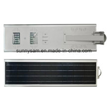 Réverbère solaire solaire de jardin de la puissance 25W LED