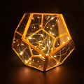 Lantern Terrarium w/20 LED String Light