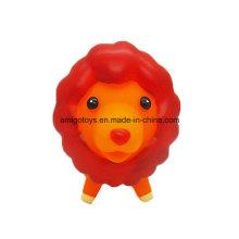 Красный Лев животных высокого качества пластиковые игрушки
