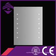 Jnh170 alta calidad Square Fogless punto de baño espejo LED hecho en Chiina