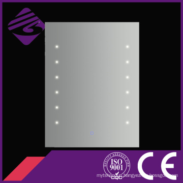 Jnh170 High Quality Square Fogless Bath Point Light LED Mirror Made in Chiina