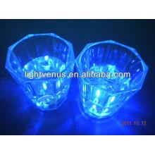 Romántico iluminado cristal de vodka de LED activo líquido
