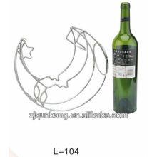 Estante del vino de la manera