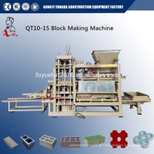 QT5-20 pequena máquina de bloco oco nas Filipinas
