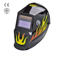 Solar auto-darkening welding mask