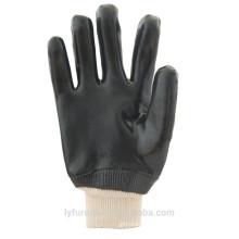10,5 Zoll PVC Handschuhe, doppelt getaucht, glatt finishi