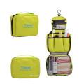 design de moda pendurado saco de cosméticos de higiene pessoal para ferramentas de maquiagem