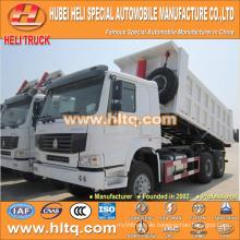 China SINOTRUK 6X4 40 Tonnen Last Lastwagen Dumper 371hp neu produziert günstigen Preis Qualitätssicherung in China.
