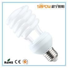 Lâmpada de poupança de energia de meia espiral 25W CFL Light T4 Compact