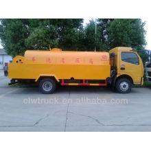 5000L Dongfeng esgoto limpeza caminhão, 4x2 rua limpeza caminhão