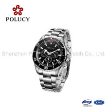 Fashion 5 ATM Water Resistant 2016 Private Label Watch Automatic Chronograph Watch Suppliers China