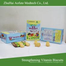 Biscuits vitaminés