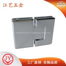 Cabine de douche en laiton massif raccord verre douche charnière
