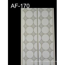 Panel de pared caliente del PVC de la hoja